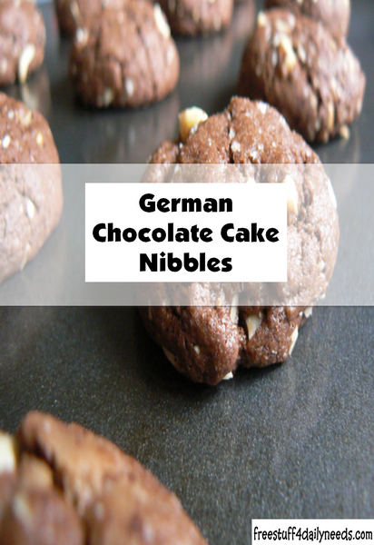 German Chocolate Cake Nibbles