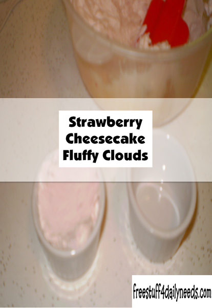 Strawberry Cheesecake Fluffy Clouds