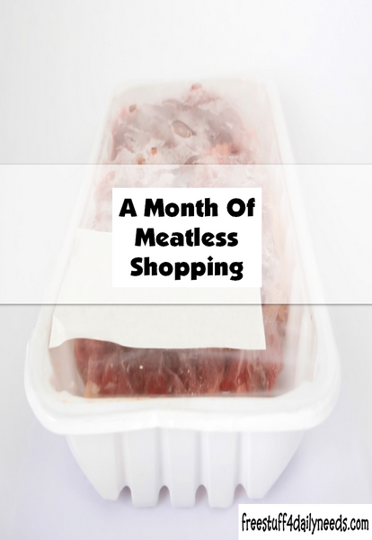 A Month Of Meatless Shopping