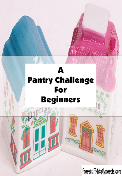 A Pantry Challenge For Beginners