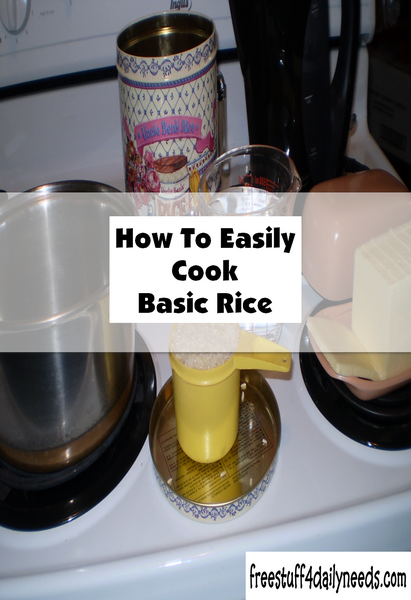How To Easily Cook Basic Rice