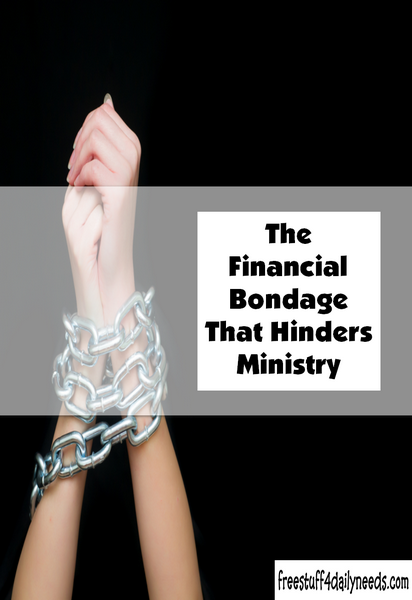 The Financial Bondage That Hinders Ministry