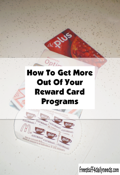 How to Get More Out of Your Reward Card Programs
