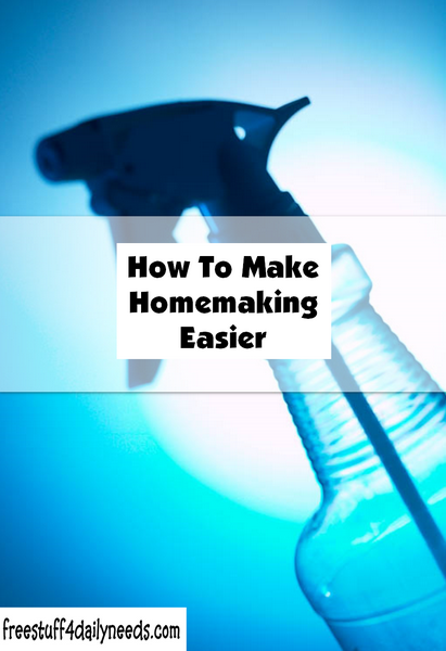 How To Make Homemaking Easier