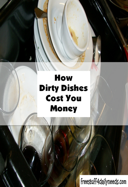 How Dirty Dishes Cost You Money