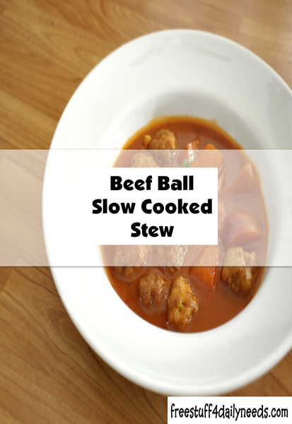 Beef Ball Slow Cooked Stew