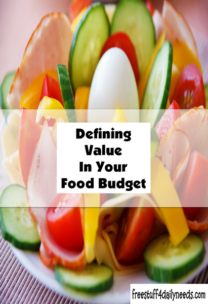 Defining Value In Your Grocery Budget