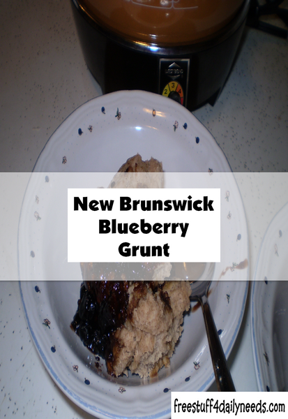 New Brunswick Blueberry Grunt