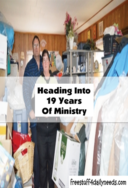 Heading Into 19 Years Of Ministry