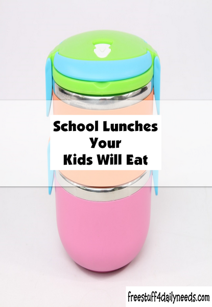 School Lunches Your Kids Will Eat