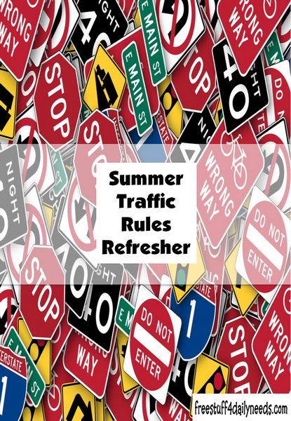 Summer Traffic Rules Refresher
