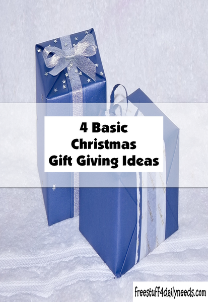 4 Basic Christmas Gift Giving Ideas