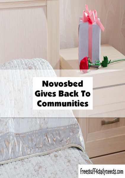 Novosbed Gives Back To Communities