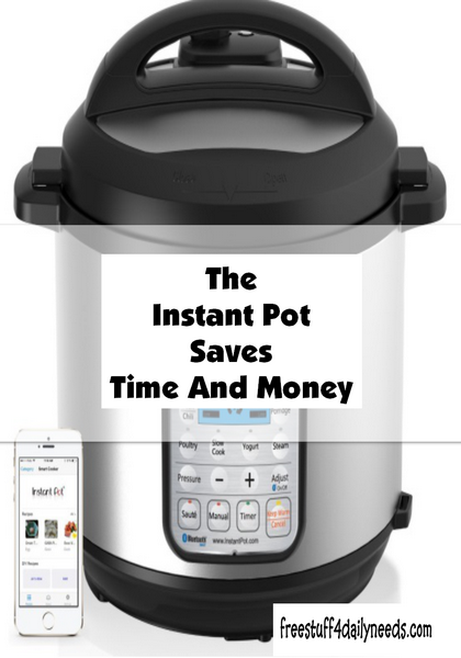 The Instant Pot Saves Time And Money