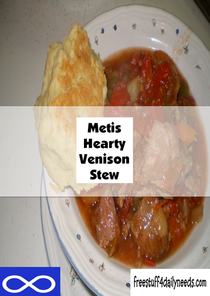 Metis Hearty Venison Stew