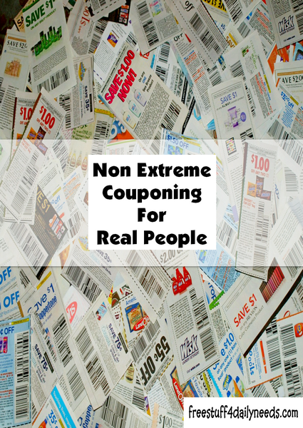 Non Extreme Couponing For Real People
