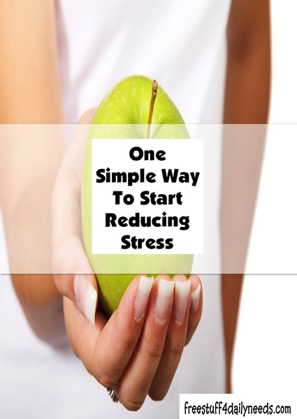 One Simple Way To Start Reducing Stress