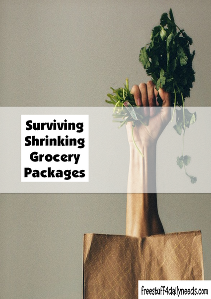 Surviving Shrinking Grocery Packages