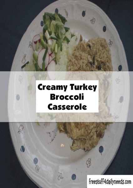 Creamy Turkey Broccoli Casserole